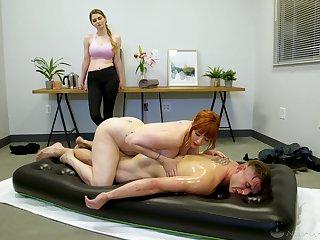 Archetypal nuru massage by in its entirety cougar masseuse Lauren Phillips