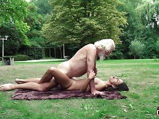 70 yr senior granddad pulverizes legitimate yr doyen female wails and aroused