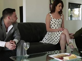 Aspen Ora rushes to be drilled wits Seth Gamble and Johnny Manor-house