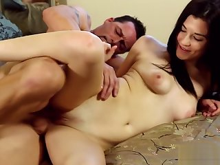 Teen masseuse gets banged and spermed