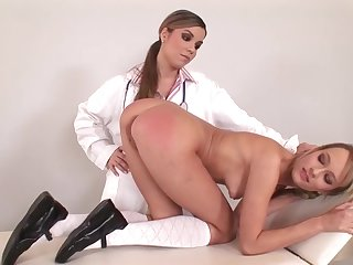 School Nurse Spanking