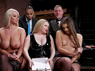 Aiden Starr is a masterful dispirited mistress who gets off on punishing slaves